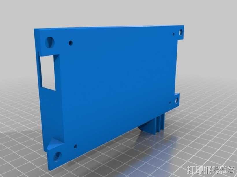 K8200风机 3D模型  图2