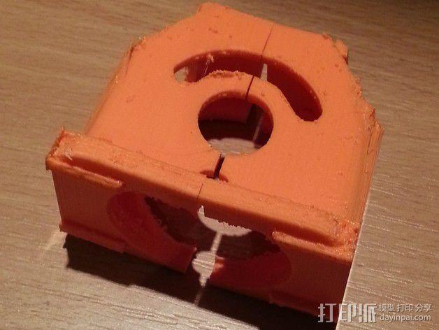 风扇挤出器 3D模型  图3