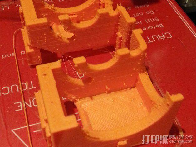 风扇挤出器 3D模型  图2