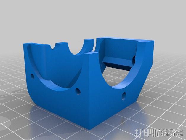 风扇挤出器 3D模型  图4