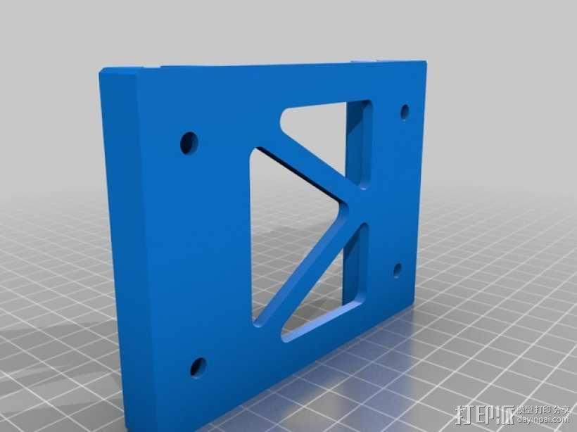BPS线轴支架 3D模型  图2