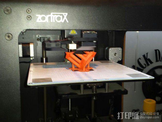 空心立方体摆件 3D模型  图2