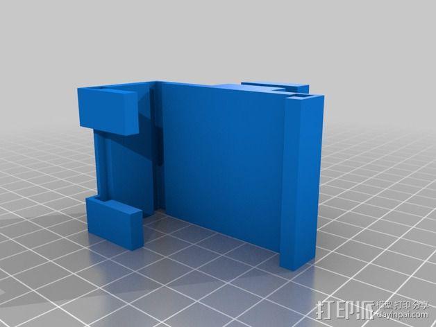 表盘架 3D模型  图2