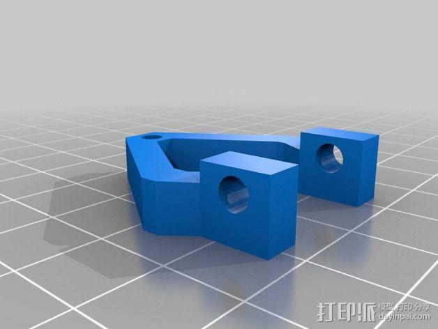 冷风机附件 3D模型  图2