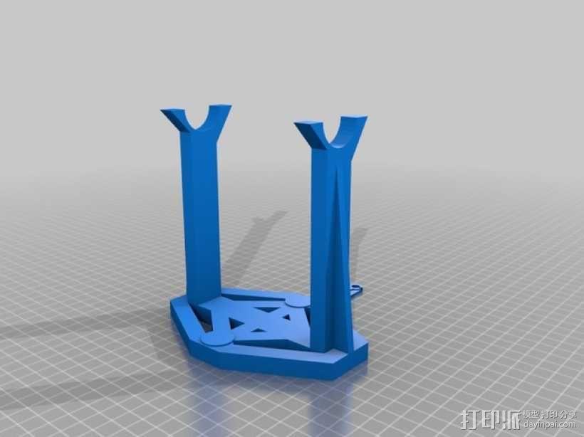 可打印线轴 3D模型  图1