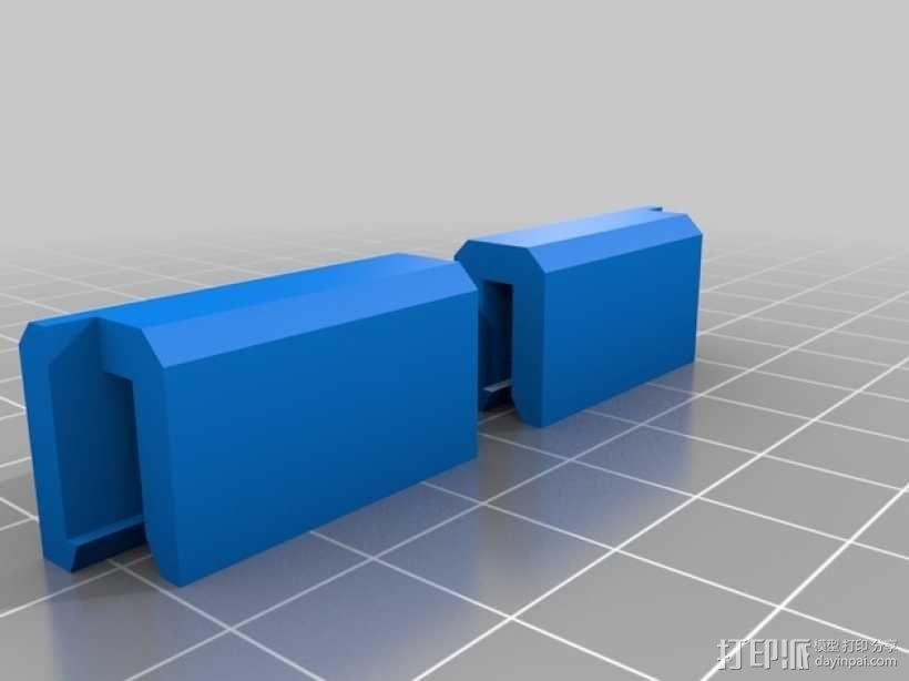 加热板支架 3D模型  图1