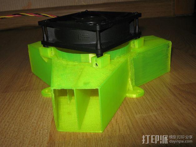 冷风扇 3D模型  图6