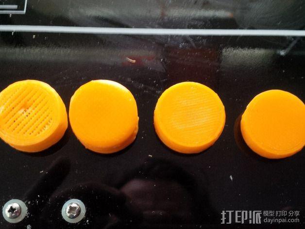 LCD旋钮 3D模型  图3