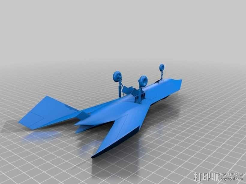 波音 摆件 3D模型  图1