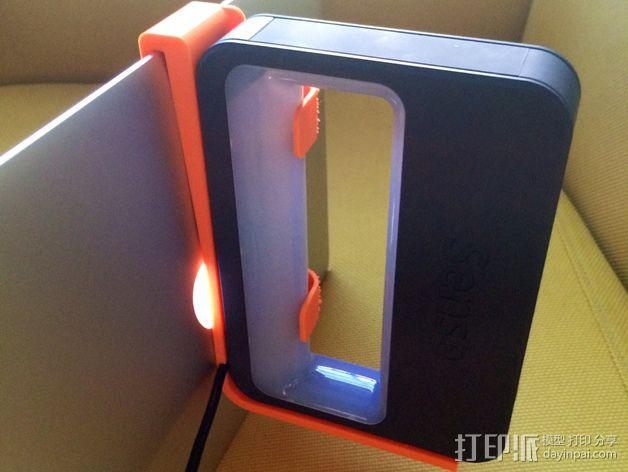 3D扫描支架 3D模型  图4