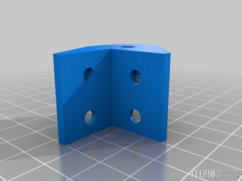 电动机支架 3D模型  图5