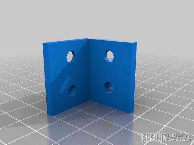 电动机支架 3D模型  图4