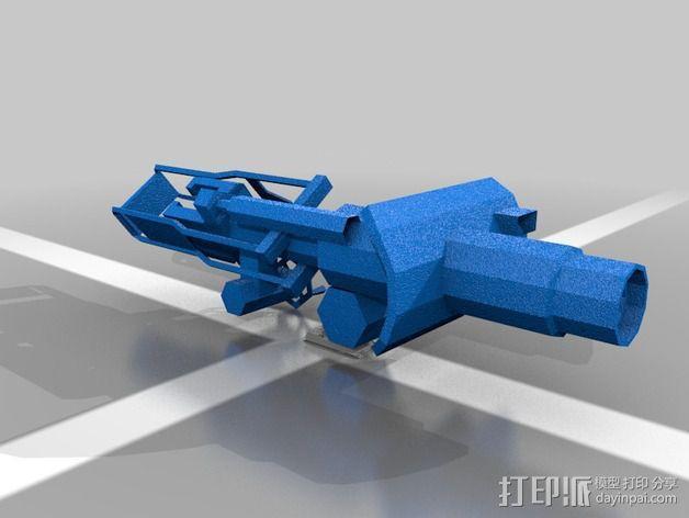 坦克模型 3D模型  图2