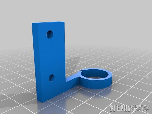 Prusa i3 打印机的线轴导线器 导环  3D模型  图2