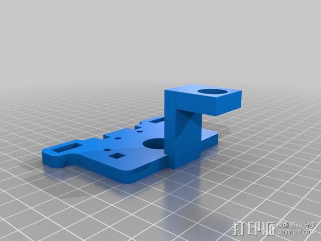 Printrbot Plus打印机的调平传感器支架 3D模型  图1