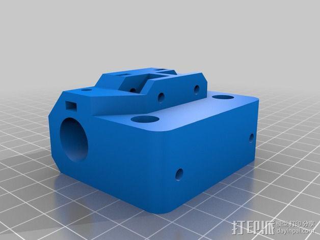Core XY打印机的X Ends 3D模型  图1
