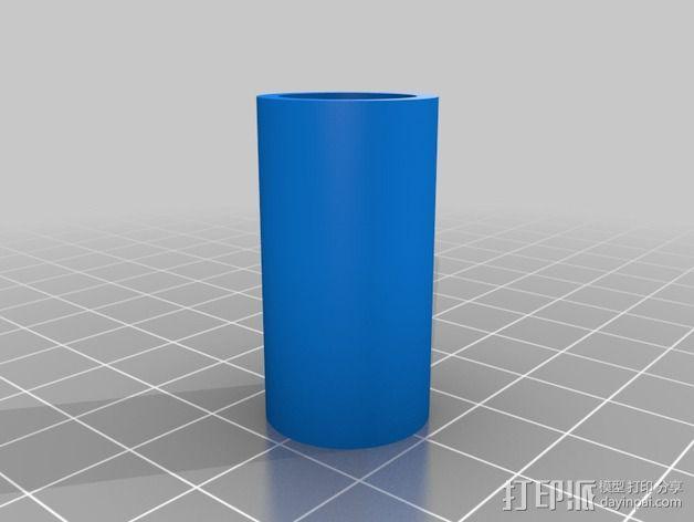 线材滤尘器 线材清洁器 3D模型  图2