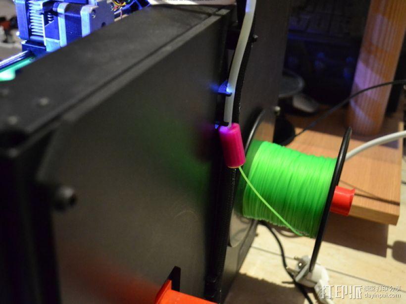线材滤尘器 线材清洁器 3D模型  图1