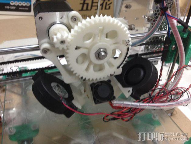 I3打印机的风扇 3D模型  图1