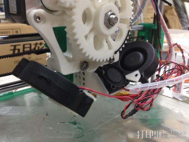 I3打印机的风扇 3D模型  图3