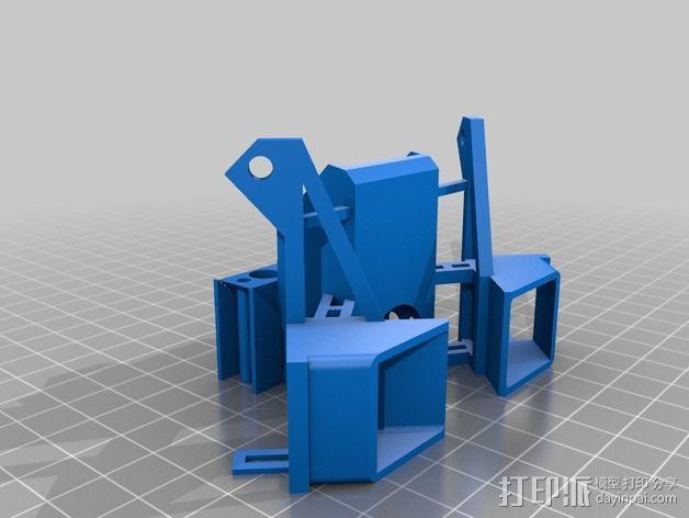 I3打印机的风扇 3D模型  图2