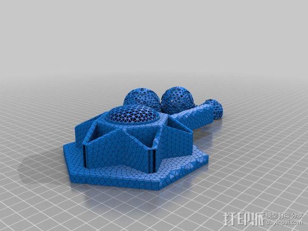 火星基地 3D模型  图3