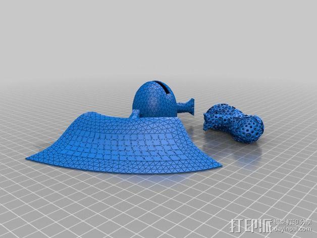 火星基地 3D模型  图5