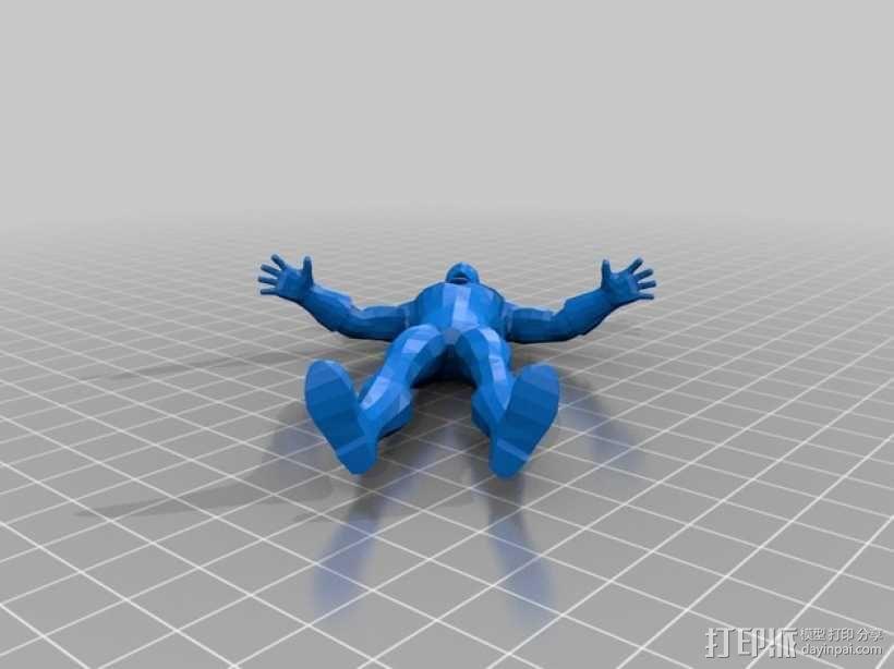 Doctor Fate人物造型 3D模型  图2