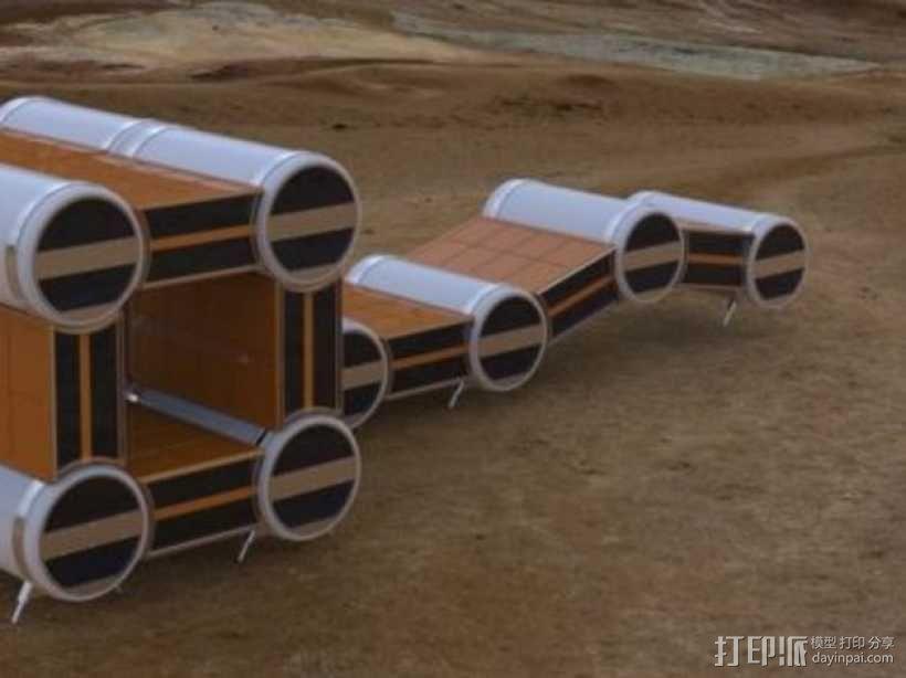 火星基地 3D模型  图12