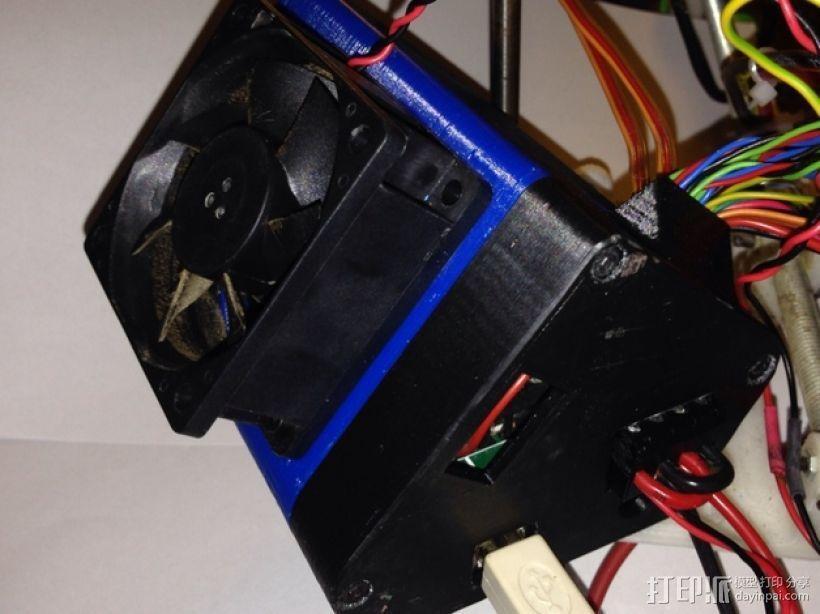 Arduino+Ramps1.4电路板的保护罩 3D模型  图1