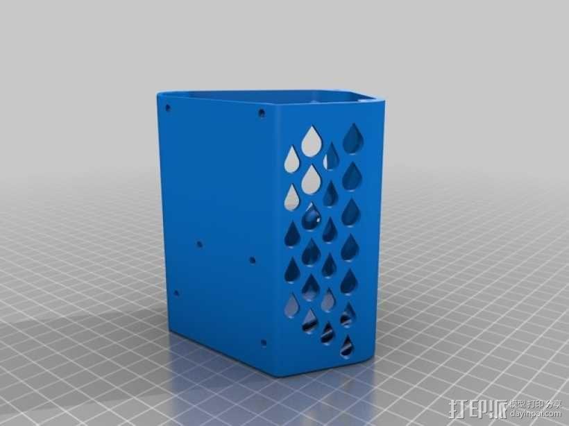 Arduino+Ramps1.4电路板的保护罩 3D模型  图2