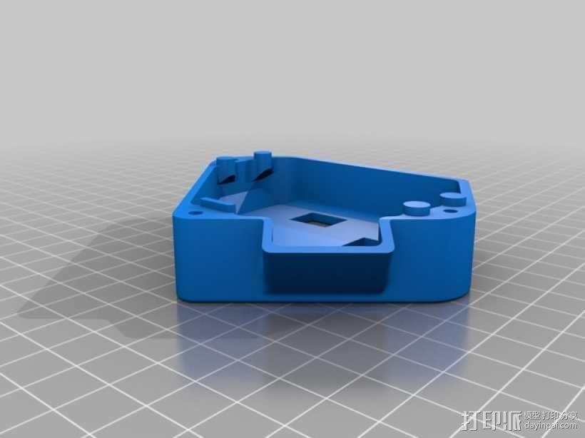 Arduino+Ramps1.4电路板的保护罩 3D模型  图3