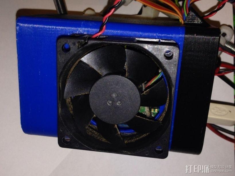 Arduino+Ramps1.4电路板的保护罩 3D模型  图7