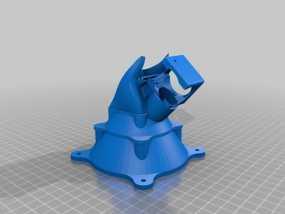 喷头风扇 通风导管 3D模型