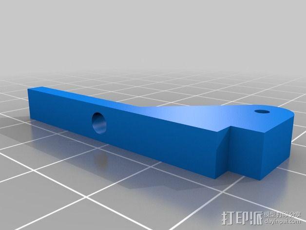 风扇支架 通风导管 3D模型  图2