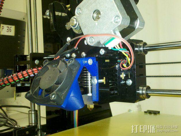 风扇支架 通风导管 3D模型  图7
