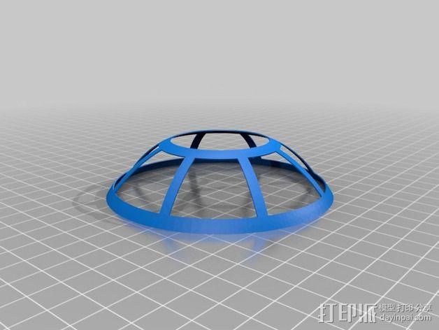可延展的火星基地 3D模型  图2