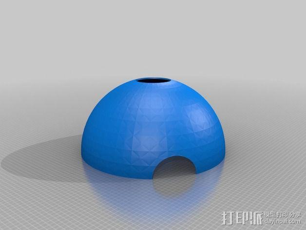 可延展的火星基地 3D模型  图4