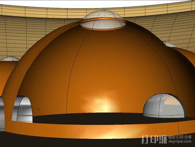 可延展的火星基地 3D模型  图9