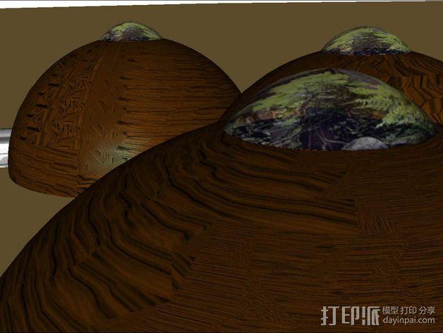 可延展的火星基地 3D模型  图15