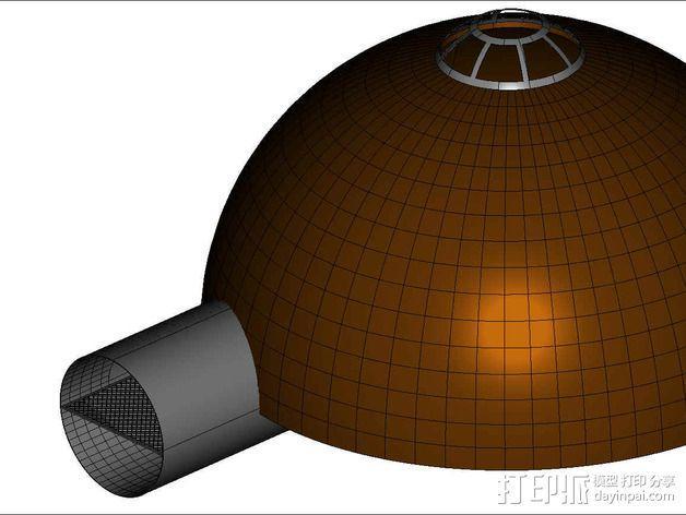 可延展的火星基地 3D模型  图18