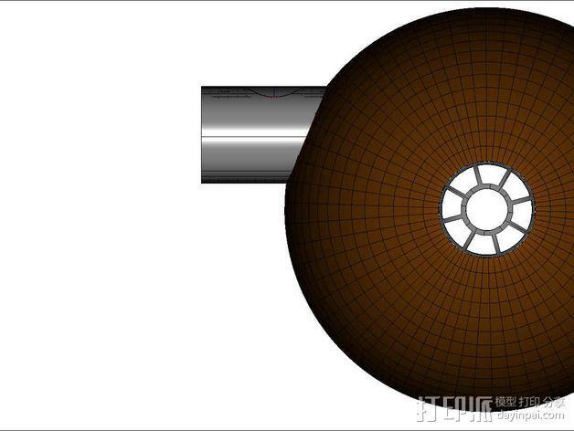 可延展的火星基地 3D模型  图17
