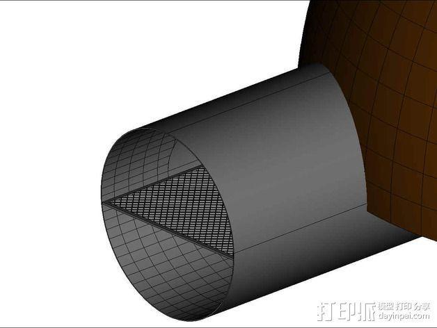 可延展的火星基地 3D模型  图19