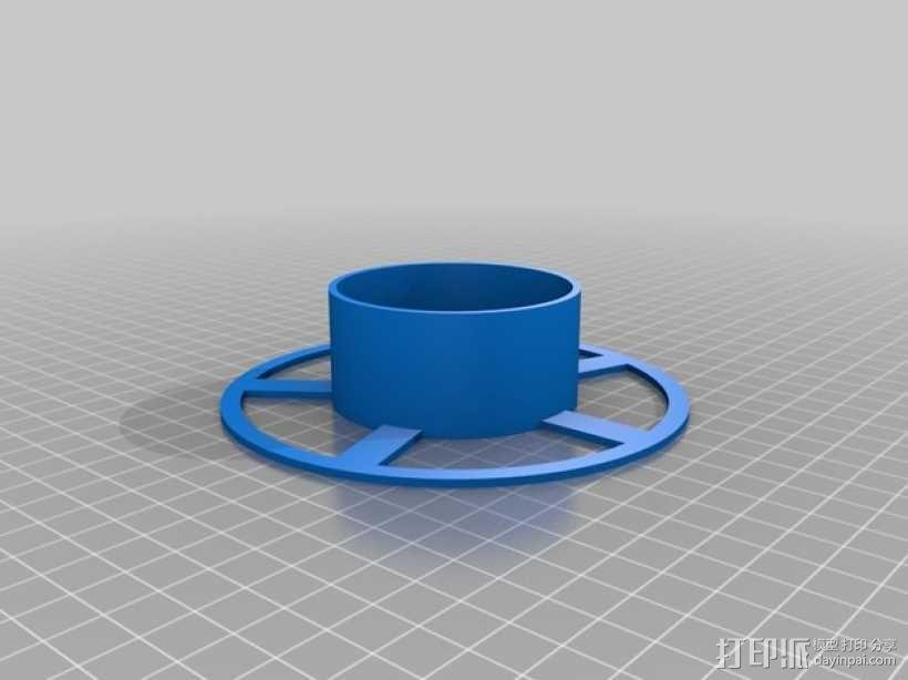 小型线轴 3D模型  图2