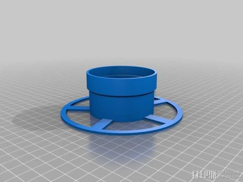 小型线轴 3D模型  图3