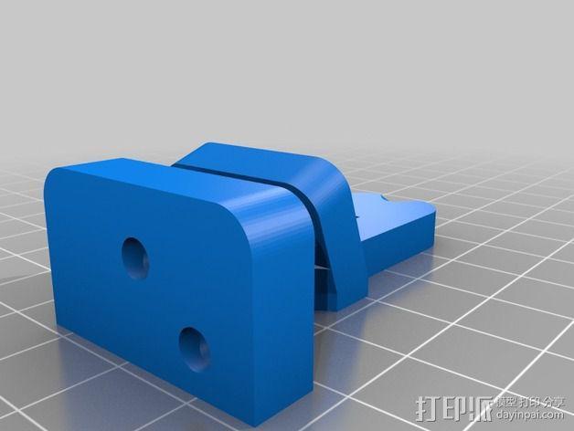 效应器支架 3D模型  图2