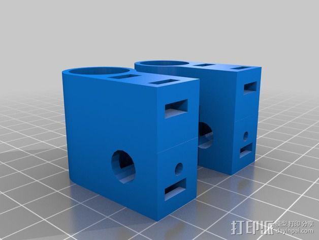 Tantillus打印机的X / Y Ends 3D模型  图2