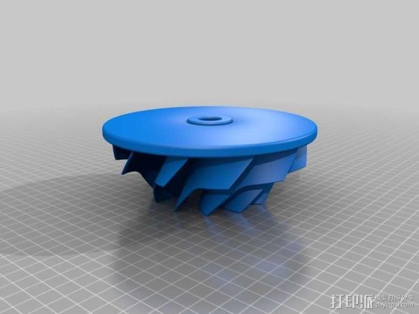 叶轮 3D模型  图2