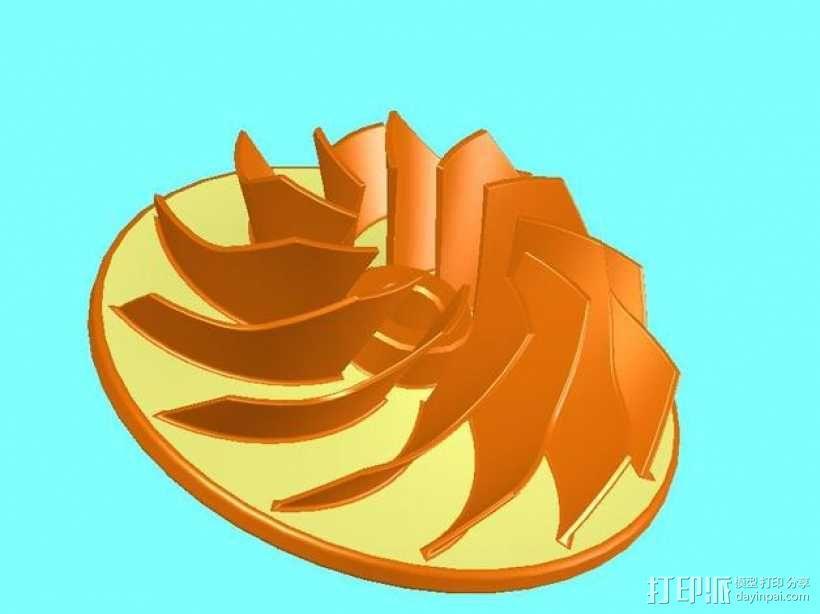 叶轮 3D模型  图4