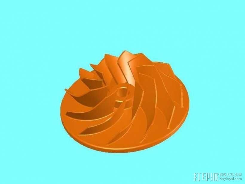 叶轮 3D模型  图3